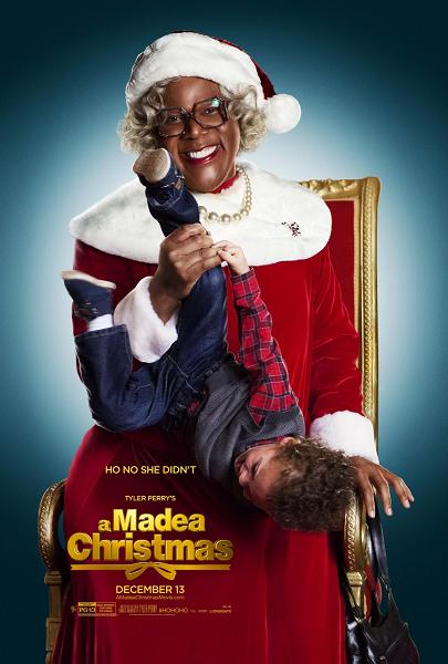 If you look closely, the kid's tongue is sticking out. Which makes Madea's smile way more explainable. And illegal and sinister.