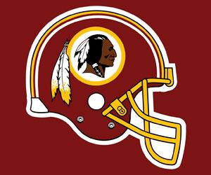 Now that the Washington Redskins' trademark has been revoked, I'm going to make a mint putting this logo on all sorts of filthy sex toys.