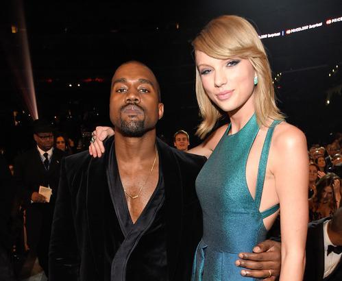 Nice to see Kanye don his finest bathrobe and make nice with Taylor Swift at the Grammys.
