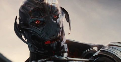 I'm not a big comic fan, but I'm pretty sure Ultron didn't have a face like a cyborg burn victim.