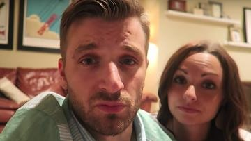 Sam and Nia Rader, the Christian vlogger couple mentioned in the episode because he was cheating on his chick via Ashley Madison. After allegedly being so in love with his wife that he tested her for pregnancy by shoving his paw into her piss-filled toilet.